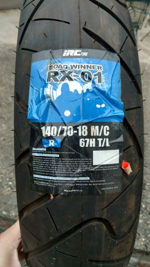 Motorcycle Tire 140/70-18 IRC Road Winner RX-01 for Sale in Manchester, NH