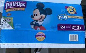 93 new Huggies diapers pull ups 2T-3T for Sale in Battle Ground, WA