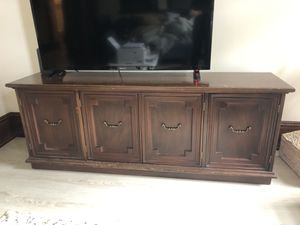 Tv stand/storage bench for Sale in Burlington, VT