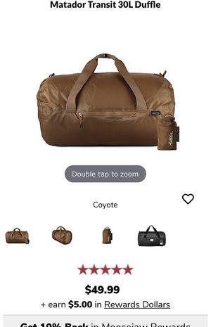 Matador duffle bag for Sale in Fontana, CA