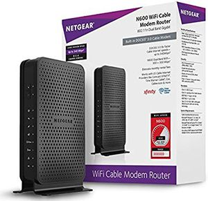 Brand New NETGEAR N600(8x4) WiFi DOCSIS 3.0 Cable Modem Router (C3700) for Sale in Jersey City, NJ
