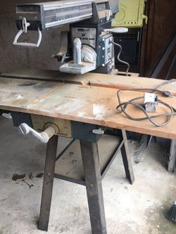 Radial Arm Saw for Sale in Portsmouth,  VA
