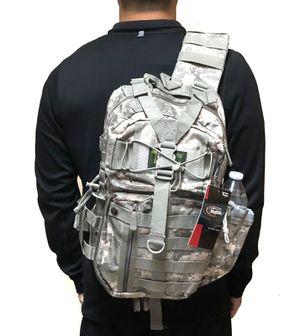 Brand NEW! Grey Digital Crossbody/Shoulder/Side Bag/Satchel/Messenger For Traveling/Work/Snowboarding/Sports/Gym/Fishing/Outdoors/Biking/Camping $23 for Sale in West Carson, CA