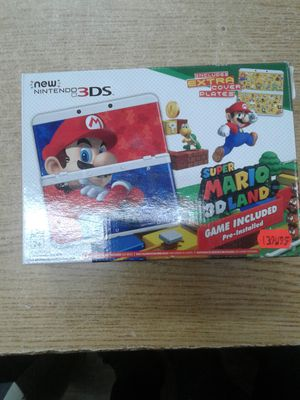 New Nintendo 3DS Super Mario 3D Land Edition for Sale in Baltimore, MD