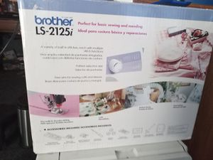 Brother LS 2125i sewing machine for Sale in Stockton, CA