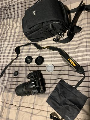 Nixon D3200 DSLR Camera Combo for Sale in San Antonio, TX