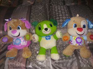 Fisher Price Laugh & Learn Sis And Puppy. LeapFrog Scout $12 For All for Sale in Eagle Lake, FL