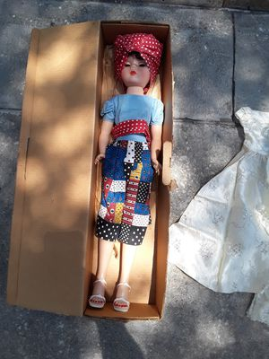 Vintage Rags to Riches Doll with original box 1950's for Sale in Tampa, FL