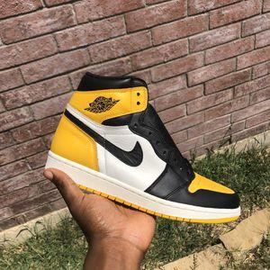 Jordan 1 Yellow Toe for Sale in Saginaw, TX