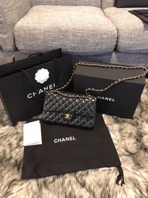 Chanel classic lambskin double flap bag for Sale in Miami Beach, FL
