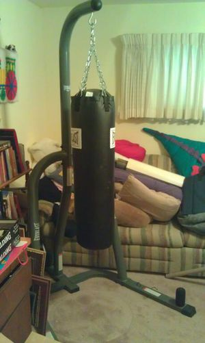 Punching bag (with stand) for Sale in Jefferson City, MO