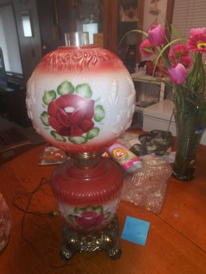 Antique 3 way lamp beautiful for Sale in Portland, OR