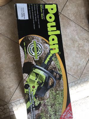 POULAN Chainsaw for Sale in Chula Vista, CA