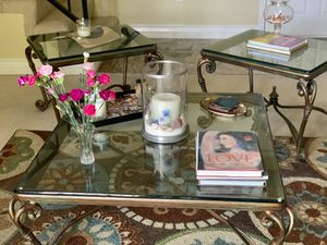 Coffee Table and Side Tables Set for Sale in Los Angeles, CA
