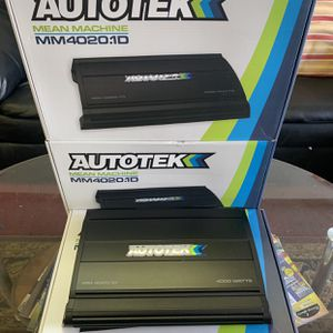 Autotek Car Audio . Car Stereo Amplifier . 4000 watts Class D . With Remote Bass Knob . New Years Super Sale . $119 While They Last . New for Sale in Mesa, AZ