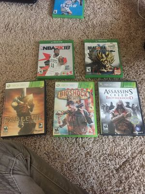 Xbox 1 & Xbox 360 Games (Excellent Condition) for Sale in Baltimore, MD