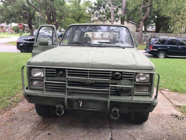 1985 Chevrolet M1009 CUCV