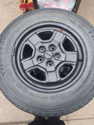 14 jeep compass wheels for Sale in Cleveland, OH