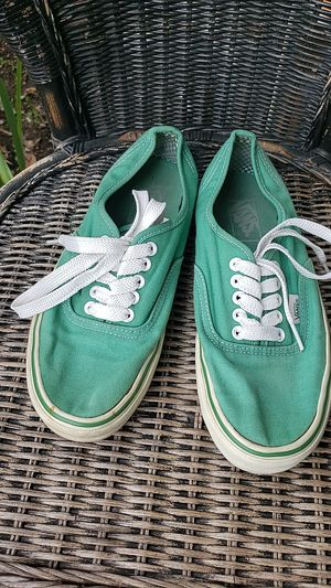 Van's Green Unisex Tenny Shoes for Sale in Normandy Park, WA
