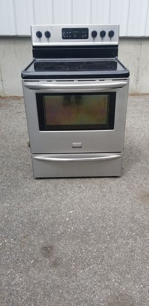 Frigidaire stainless steel electric range stove for Sale in Pawtucket, RI