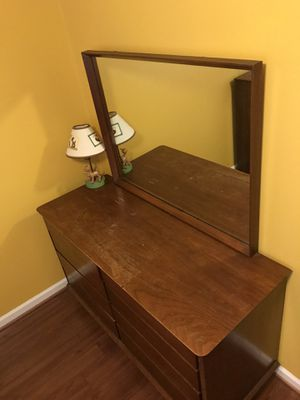 Dresser and Double/full bed frame with double storage for Sale in Roebuck, SC