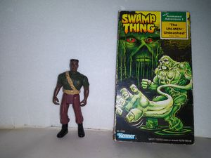 1990 SWAMP THING BAYOU JACK with VHS for Sale in Houston, TX