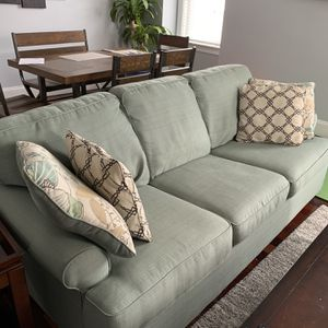 Seaglass 3-Seat Couch - FREE, Must Go ASAP for Sale in Boston, MA