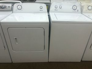 Amana Set Washer and Dryer Electric for Sale in Phoenix, AZ