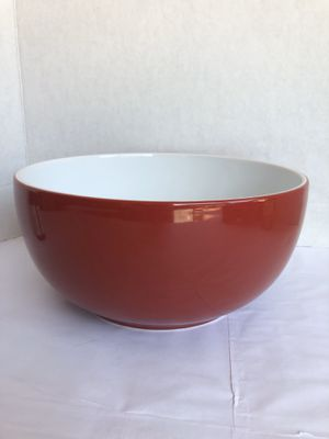 ROOM ESSENTIALS Soup/Cereal Red Bowl Coupe ceramic for Sale in Tampa, FL