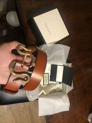 Gucci Snake Belt size 95 for Sale in San Diego, CA