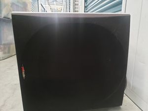 Polk audio sub. If see post it is available for Sale in Vista, CA
