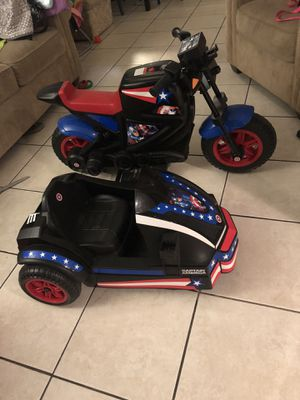 Captain America power wheel for Sale in Tampa, FL