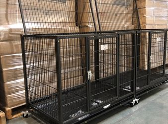 ✳️Brand New HD Dog kennel cage crate Breeder Version side-by-side 🐕🦺See each dimensions in second picture🇺🇸 for Sale in Rye,  NY