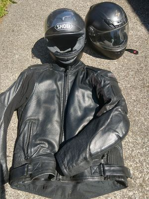 Motorcycle jacket and helmet for Sale in Vancouver, WA