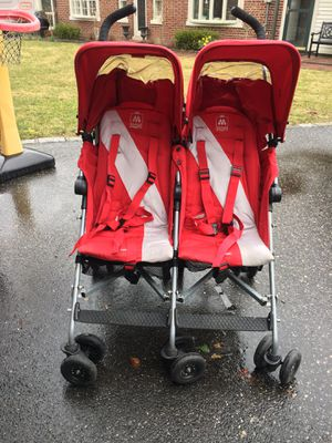 Maclaren double stroller for Sale in Weehawken, NJ