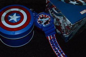 Marvel Captain America Casio G-Shock GA110 for Sale in San Jose, CA