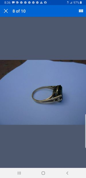 14kt gold emerald ring for Sale in Gaithersburg, MD