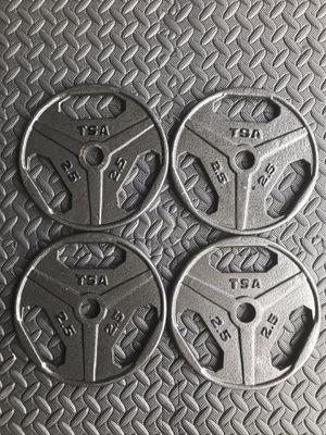 "TSA standard 1"" barbell weights / plates for Sale in Lynnwood, WA"