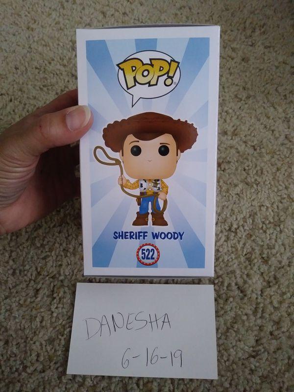Toy Story 4 Sheriff Woody funko pop