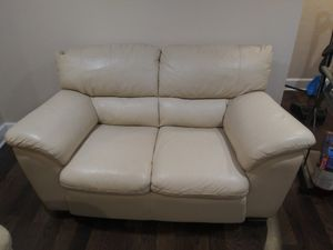 Loveseat, Recliner with ottman table with 4 chairs for Sale in Philadelphia, PA