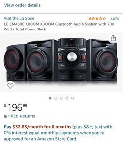 LG audio system for Sale in Oakland,  CA