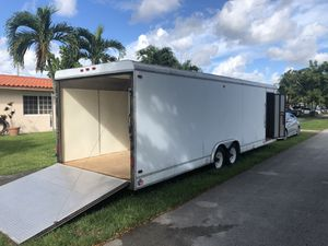 28' Enclosed Trailer / Hauler for Sale in Miami, FL