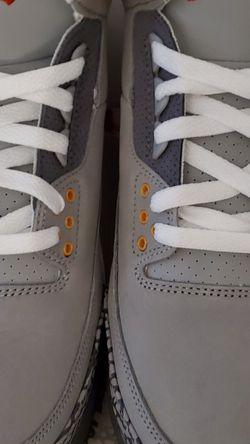 Jordan Cool Grey 3s for Sale in Lake Stevens,  WA