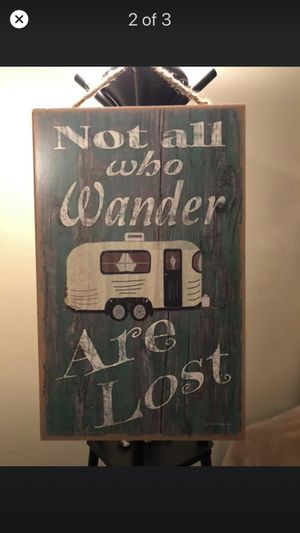 Unique Sign. I bought it for my camper last year never had a chance to use it. for Sale in Gallatin, TN