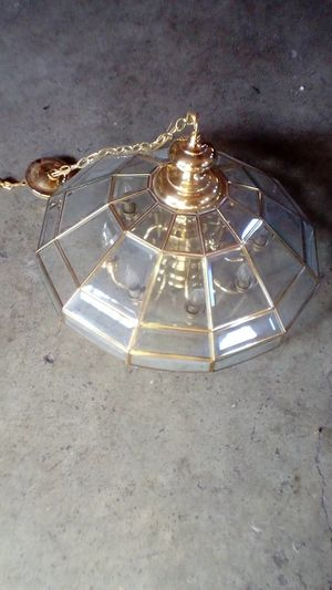 Glass Light Chandelier for Sale in Stockton, CA