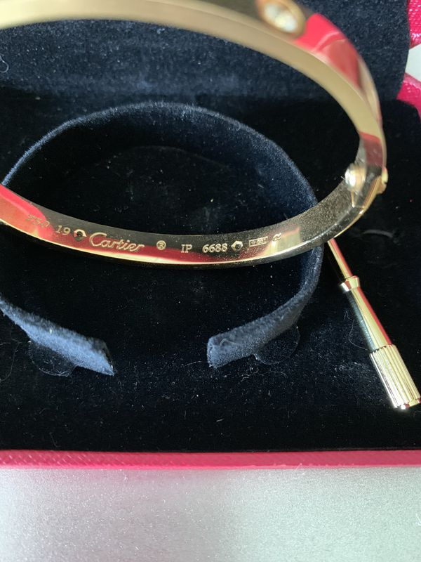 Gorgeous Cartier Love Bracelet