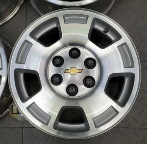 "17"" 6x5.50 Chevrolet Silverado Wheels and Tires for Sale in Sprouses Corner, VA"