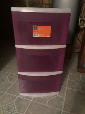 Plastic Drawer Storage 10. for Sale in Princeton, TX