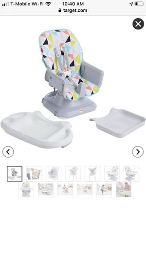 Fisher-Price SpaceSaver High Chair - Windmill NEW for Sale in Seattle, WA