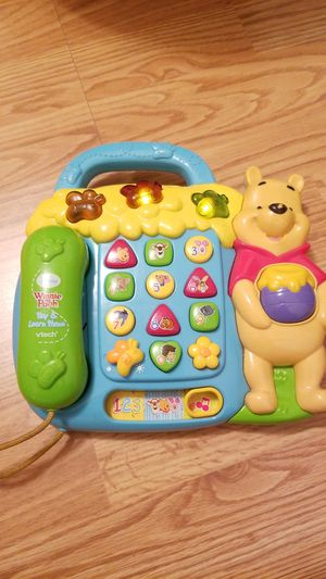 VTech Winnie the Pooh telephone for Sale in San Francisco, CA